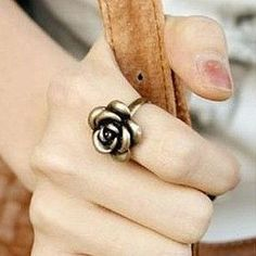 [ Life Art ] 100pcs/lot  Lady lovely popular accessories vintage rose ring female finger ring Xmas gift Free shipping on AliExpress.com. 10% off $17.88