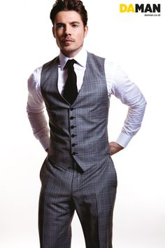 Josh Henderson. Hot guy in a suit? I mean...it's like they're trying to give us all a heart attack!