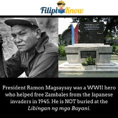 70 Amazing Trivia and Facts About the Philippines that Will Blow Your Mind Blow Your Mind, Bury, Pinoy, Trivia, Wwii, Philippines, Presidents, Mindfulness, Facts