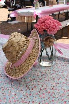 Vintage shabby chic cowgirl party Birthday Party Ideas | Photo 1 of 216 | Catch My Party