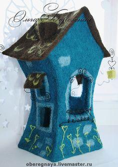 """Освещение ручной работы. Ярмарка Мастеров - ручная работа Ночной светильник """"Сказочный домик"""". Handmade."""