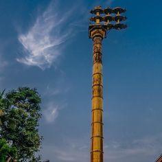 Temple flagpole at Mylapore. The raising of the flag signifies the start of a local festival. #Fujifilm #fujixpro2 #XPro-2 #xphotographer #FujifilmAsia#fujicamerasaus #fujifeed #fujilove #myfujifilm #fujixseries #fujifilmx_us #fujifilmx_ch  #teamfujifilm #fujixpro #teamfuji #India