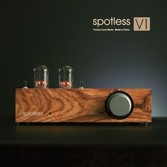 True water without fragrance (spotless) V1 tube pear wood Panel front stone HiFi Amplifier