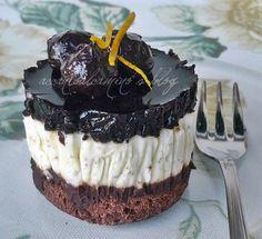 """Mousse di Cioccolato, Fichi e Gelatina di Aceto Balsamico di Ernst Knam (senza glutine), come dire: """"ci ho provato"""" :-)"""