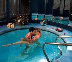 Cove Haven Resort in Pennsylvania. Romance at its best ;)