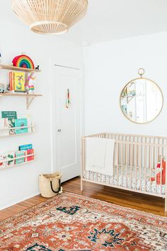 Modern nursery via A House in the Hills room ideas Kids Bedroom Furniture, Baby Furniture, Children Furniture, School Furniture, Furniture Logo, Kids Bedroom Designs, Baby Boy Rooms, Kids Rooms, Nursery Inspiration