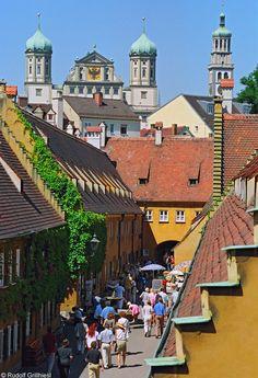 Zauberhaftes #Augsburg und Du mittendrin!