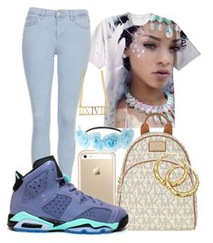 """""""5.24.15"""" by xrated-trends ❤ liked on Polyvore featuring Topshop, Squair, MICHAEL Michael Kors, Retrò and Charlotte Russe"""