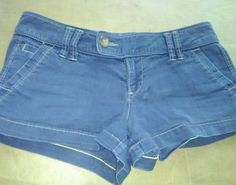 Womens American Eagle Cute Short Shorts Size 0
