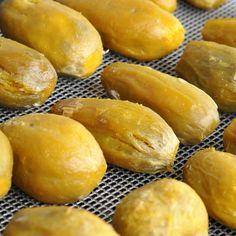 homemade dried sweet potato