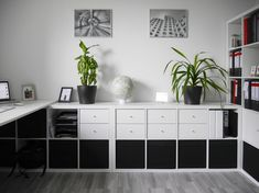 büro einrichten diy office setup diy office setup diy For other models, you can visit the category. Home Office Design, Home Office Decor, Diy Home Decor, Office Setup, Office Organization, Ikea Office Hack, Office Hacks, Office Ideas, Home Office Simples