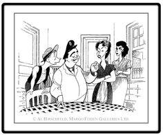 The Honeymooners: Jackie Gleason, Art Carney, Audrey Meadows, and Joyce Randolph  Hand signed by Al Hirschfeld