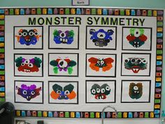 Mrs. T's First Grade Class: Monster Symmetry