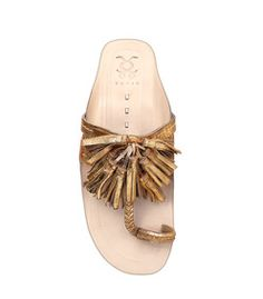 Figue Gold 'Scaramouche' Sandal