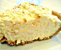 Diabetic Coconut Cream Pie Recipe  http://www.backroadsliving.com/recipes/sugar-free-fat-free-recipes/diabetic-coconut-cream-pie-recipe/
