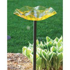 Birds Choice Pole Mounted Acrylic Bird Bath - AAP216