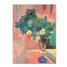 'Bouquet for Bonnard' by Sheila Golden Painting Print on Wrapped Canvas
