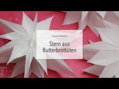 DIY: Wunderschöner Papierstern in 2 Minuten! | Zeit für FREI! - YouTube