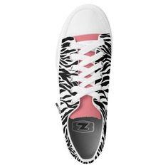 (Black & White Zebra Stripes Zipz Shoes Printed Shoes) #Animal #AnimalPrints #Black #Christmas #Classic #ForHer #ForHim #Monotone #Shoestudio #Stripes #Valentine #White #Zebra #Zipz is available on Funny T-shirts Clothing Store   http://ift.tt/2fc3RsI