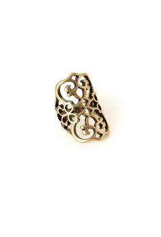Antique-Inspired Filigree Ring | FOREVER21 - 1000117816