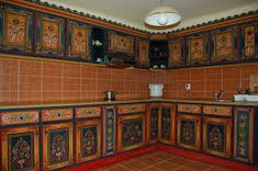 mobila traditionala romaneasca - Búsqueda de Google Painted Furniture, Kitchen Cabinets, Home Decor, Google Search, Kitchen Cupboards, Homemade Home Decor, Decoration Home, Kitchen Shelves, Interior Decorating