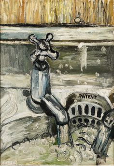 Kitchen Sink by John Bratby on Curiator, the world's biggest collaborative art collection.