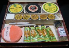 Vintage MAX FACTOR Stage Makeup Male RARE Kit Hollywood Theatrical 1940s 1950s