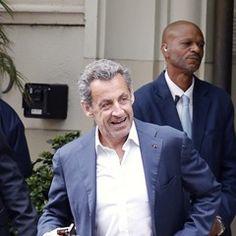 EXCLUSIVE: Nicolas Sarkozy leaves Santa Monica hotel as he prepares to fly to Paris (295530)