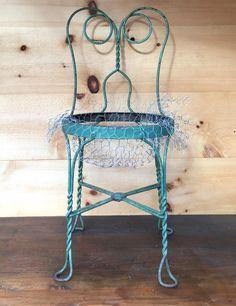 Succulent Chair Planter project
