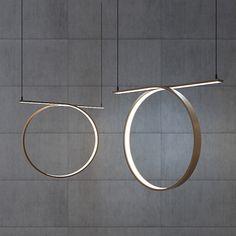 Andrii Kovalskyi, designer ukrainien et fondateur du studio Inshovid, imagine une collection de spirales de bois lumineuses. ...