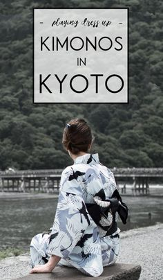 How to wear a kimono in Kyoto: a fashion experience in Japan.