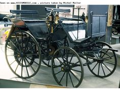 Daimler Motorkutsche (1886-1886). Daimler AG is a German manufacturer of automobiles, motor vehicles, and engines, which dates back more than a century.