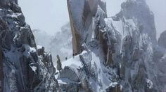 Crédit photo : Talisman Mountaineering - Chamonix, Les Cosmiques