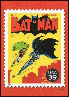 US Stamp 2006 - DC Comics Super Heroes Batman & Robin