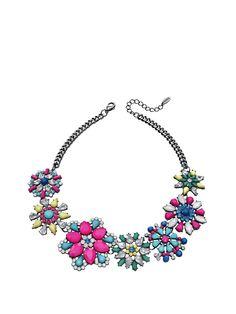 Bijoux De Bouquetière, Collier De Fleurs, Collier De Cristal, Bijoux De  Cristal, 87c6a7fc74f