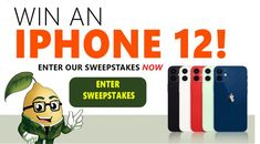 Enter our #giveaway for a chance to #win a new Apple iPhone 12!