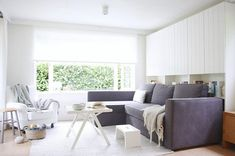 You don't have to limit your IKEA living room ideas to just modern styles. IKEA is best known for its Scandinavian modernism. Nordic Living Room, Scandinavian Living, Living Room Sets, Living Room Modern, Living Room Designs, Scandinavian Interior, Ikea Interior, Small Living, Ikea Living Room Furniture