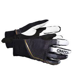 Craft Podium Leather Glove (Black/White/Gold - S)