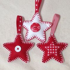 felt christmas star - Google Search