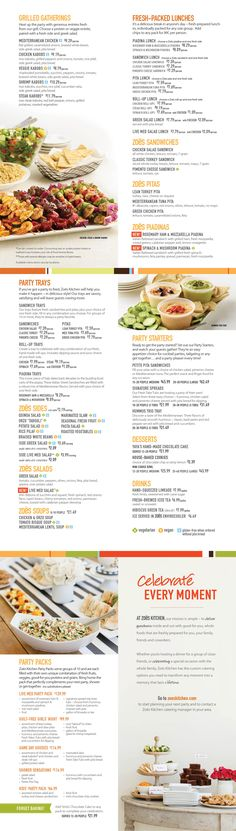 Zoes Kitchen Kids Menu zoes kitchen menu. photo of zoes kitchen raleigh nc united states