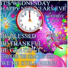 Wishing Everyone, a most Blessed and Happy New Year in the Love of Jesus! God Bless and be with you all, Enjoy & Take Good Care!