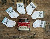 Baby sock, baby boy sock, new born boy socks, Cotton sock, soft, truck socks