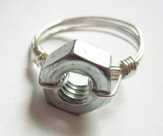Hardware Wire Wrapped Ring Tutorial