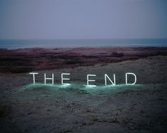 the end neon