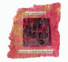 just a small bundle of sweet nothing floating down   Flickr - Photo Sharing!