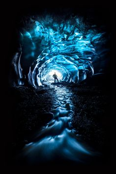 Passage to Niflheim - Inside an ice cave, Vatnajökull National Park, Iceland. Canon 5DSR, Canon 11-24mm f/4 lens, ISO 400, f/11, 5 seconds.