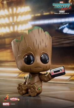 Hot Toy have revealed their line of Guardians of the Galaxy Vol. 2 Cosbaby bobble-head figures including a Baby Groot three pack! Baby Groot, Art Disney, Disney Kunst, Cute Disney Wallpaper, Cute Cartoon Wallpapers, Cute Animal Drawings, Cute Drawings, Disney Mignon, Art Mignon