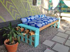 tuinbankje maken