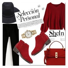 """""""Shein 4/10 :)"""" by leagoo ❤ liked on Polyvore featuring Henri Bendel and Rolex"""