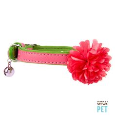 Style is blooming with the Martha Stewart Pets® 3D Flower Cat Collar - PetSmart $9.99